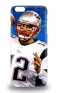 Top Quality Rugged NFL New England Patriots Tom Brady #12 Case Cover For Iphone 6 Plus ( Custom Picture iPhone 6, iPhone 6 PLUS, iPhone 5, iPhone 5S, iPhone 5C, iPhone 4, iPhone 4S,Galaxy S6,Galaxy S5,Galaxy S4,Galaxy S3,Note 3,iPad Mini-Mini 2,iPad Air ) 3D PC Soft Case