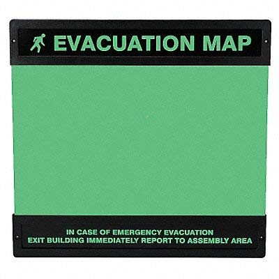 Accuform Evacuation Map Holder 11 in x 17 in. ()