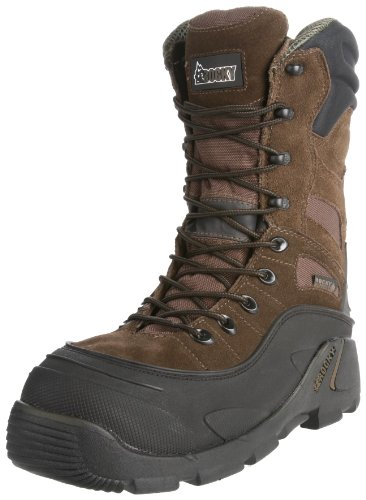 Rocky Men's Blizzard Stalker Pro Hunting Boot,Brown/Black,12 M US by Rocky