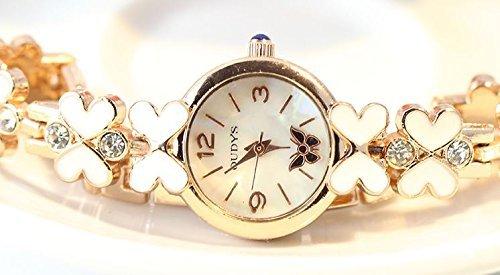 Korea Fashionable Waterproof Personalized Rhinestone Bracelet Watches (butterfly pattern)