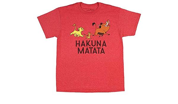 Disney Lion King Camiseta Boys Simba, Timon Pumbaa Hakuna ...