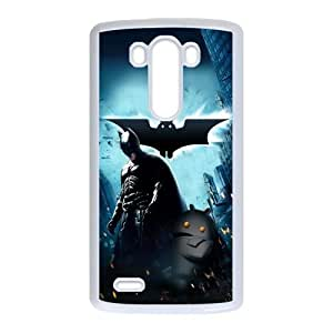 Batman And Android Digital Art 2 LG G3 Cell Phone Case White yyfabc-338886