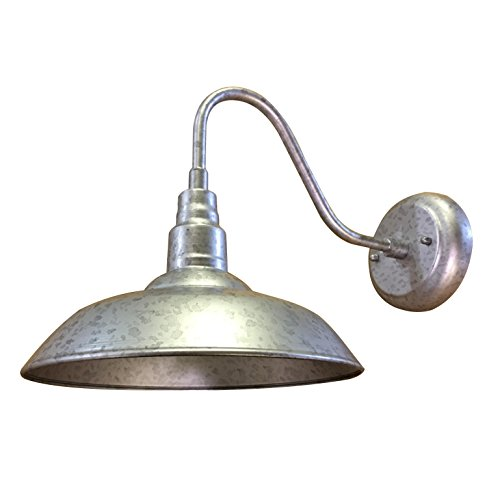 Y-Decor EL0523S9 Y-Décor Lora 1 Outdoor Wall Lighting, Silver