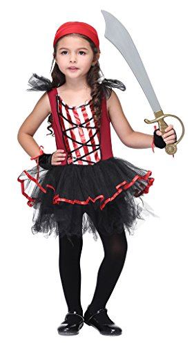 Woo2u (Pirate Lass Childrens Costumes)