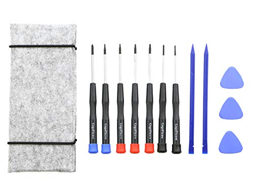 868 Air - 12 Pieces MacBook Repair Tool Kit , Precision Screwdrivers, Opening pick, Spudger and Tool Bag for MacBook Air, Retina, Pro