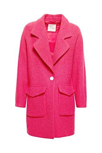 para by Esprit edc Mujer Rosa 660 Pink Fuchsia Abrigo tZzqqwRpxa