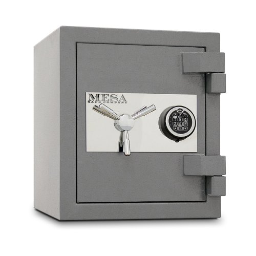 Mesa Safe MSC1916E High Security 2 Hour Burglary/Fire Safe with Electronic Lock, 1.1 Cubic feet Interior
