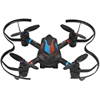 Owill LIDIRC L18 Drone 2.4G 6CH 6-Axis Mini RC Gyro Aircraft Without Camera/Also Can be A Remote Control Car (Black)