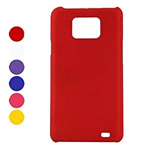 Bkjhkjy Dots Pattern Protective Hard Case for Samsung Galaxy S2 I9100 (Assorted Colors) , White