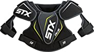 STX Lacrosse Stallion 50 Youth Shoulder Pad, Black, Small