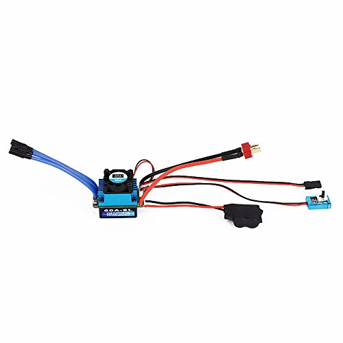 - TOOGOO(R) Racing 60A ESC Brushless Electric Speed Controller For 1: 10 Car Truck T Plug