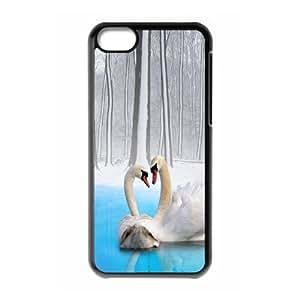 [Tony-Wilson Phone Case] For SamSung Galaxy S4 Case -IKAI0446222-Swan-ballet dancer