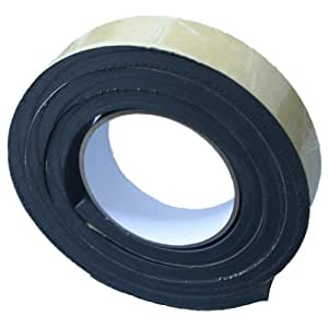 Amazon Com Black Single Sided Foam Tape 30mm Wide X 10mm