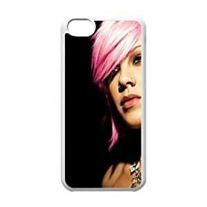 Pink Alicia Beth Moore iPhone 5c Cell Phone Case White Exquisite gift (SA_698088)