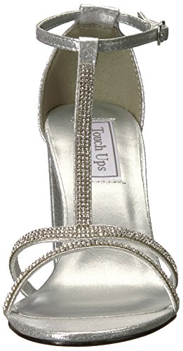 Touch Ups Women's Gwen Heeled Sandal Silver PyNYteB