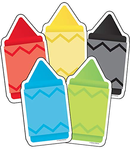 Carson Dellosa Chunky Crayons Cut-Outs (120231) ()