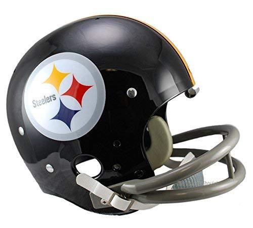 Pittsburgh Steelers 63-76 Officially Licensed TK Throwback Football Helmet