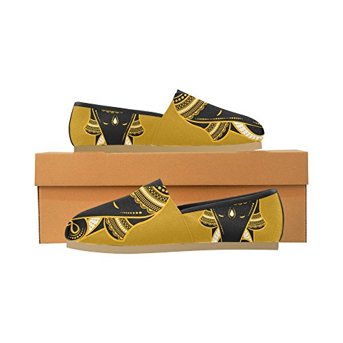 InterestPrint Men 2 Elephant elephant Casual Shoes Women Loafers for pApXqrxw