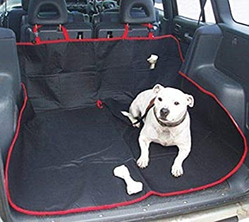 EFG Heavy Duty Universal Waterproof 2 in 1 Boot Liner Rear Car Back Seat Protector  Pet 7566d636a