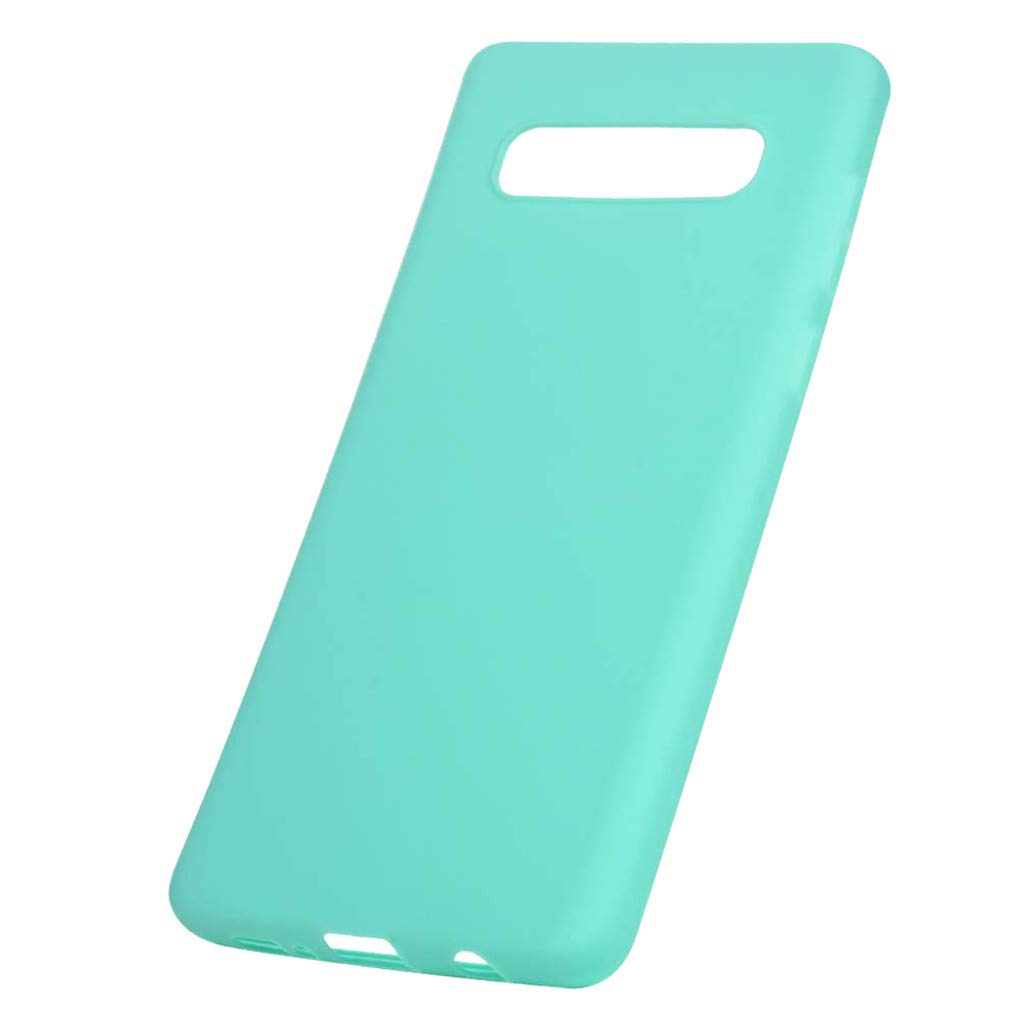 Cyhulu 2019 New Fashion Soft Silicone TPU Case Cover Compatible with Samsung Galaxy S10e 5.8 inch Phone Case, Black, Blue, Dark Blue, Gray, Pink, Red (Blue, One size)