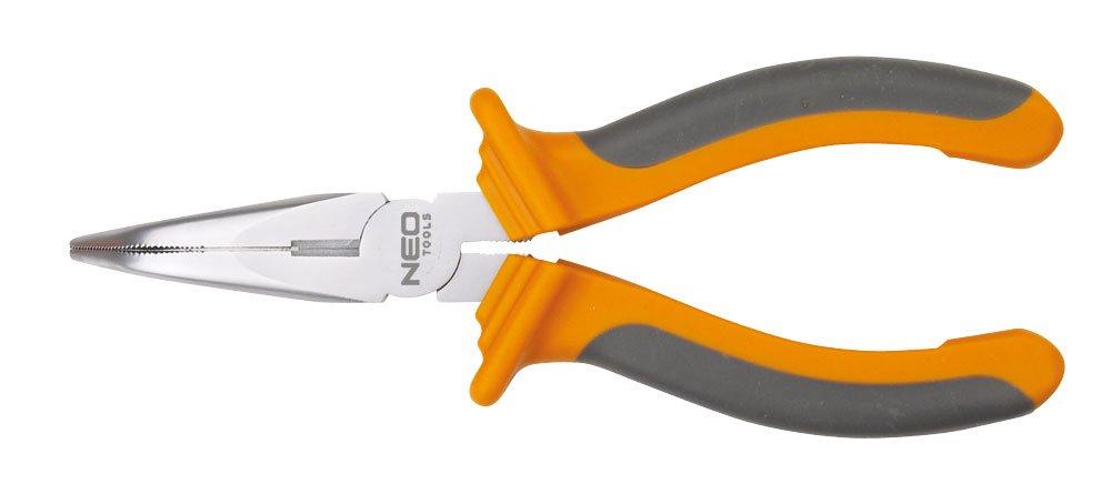 Neo Tools 01-016 - Alicate largo, curvo (200 mm): Amazon.es: Bricolaje y herramientas