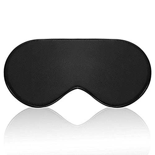 Silk Sleep Mask Eye mask for Sleeping-Soft Sleeping Mask Adjustable Blindfold Eyeshade for Men Women and Kids