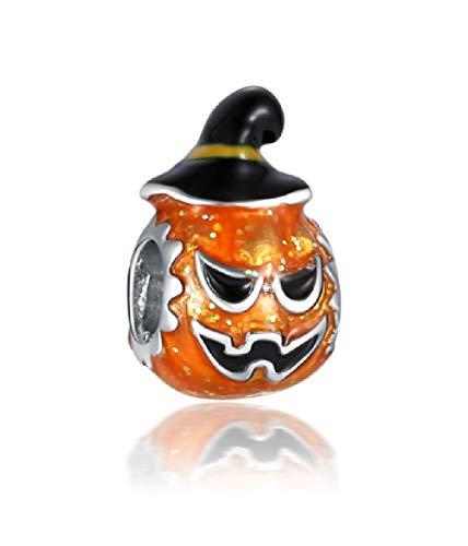 Jack-O-Lantern Pumpkin Charm