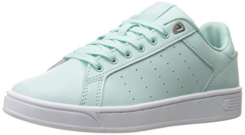 K-swiss Womens Womens Corte Cmf Fashion Sneaker Fair Aqua / White