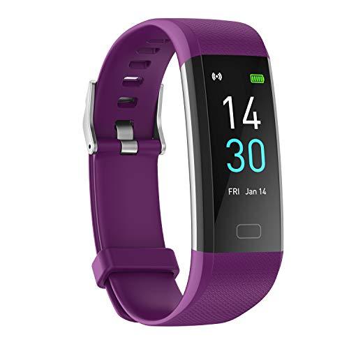 Bijgewerkt 2020-versie High-End Fitness Trackers HR, IP68 waterdicht fitnesshorloge met hartslagmeter, stappenteller…