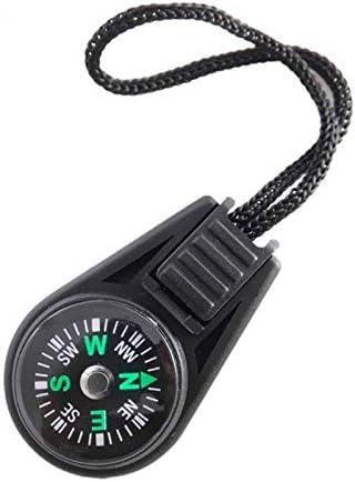 Outils de Navigation en Plein air randonn/ée shangmu Mini Boussole de Poche avec poulie de Survie pour randonn/ée randonn/ée Camping Voyage