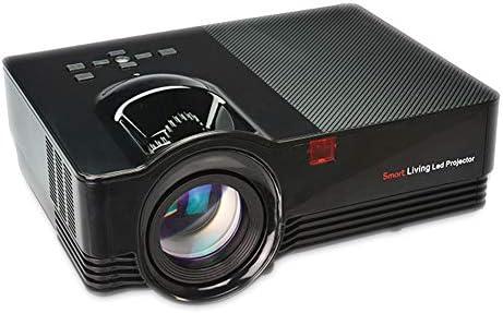 Mini proyector portátil, Video 1800 Lumen LED con Altavoces ...