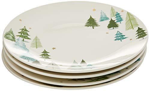 Lenox 880068 Balsam Lane 4-Piece Dinner Plate Set