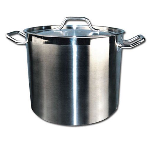 Winware Stainless Steel 40 Quart Stock Pot with Cover by Winware
