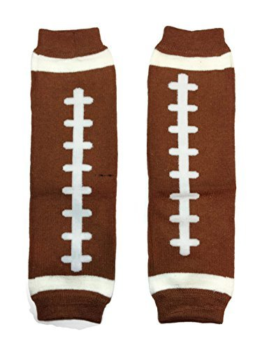 KWC - Sports Baby Leg Warmer/ Leggings (One Size, American Football (Touchdown))
