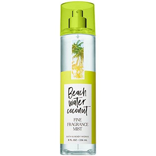 Bath and Body Works Beach Water Coconut Fine Fragrance Mist 8 Fluid ()