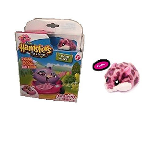 New Hamsters in a House ~ Scurry Car ~ Collectable Hamster ~ Poppy (Hamsters In A House Playset Ultimate House)