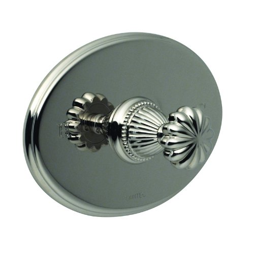 Santec 1131TT91-TM Wrought Iron Monarch Single Handle Pressure Balance Shower Valve Trim with Mushroom Flute Handle from the Monarch Collection 1131TT-TM