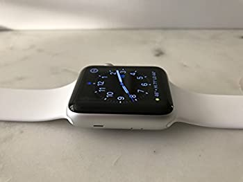 Apple Series 2 Watch For Iphone - 42mm Silver Aluminum Case With White Sport Band 3