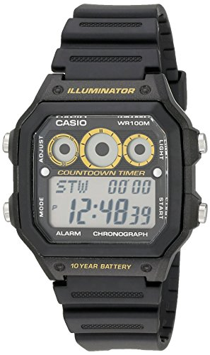 Casio AE 1300WH 1AVCF Illuminator Digital Sport