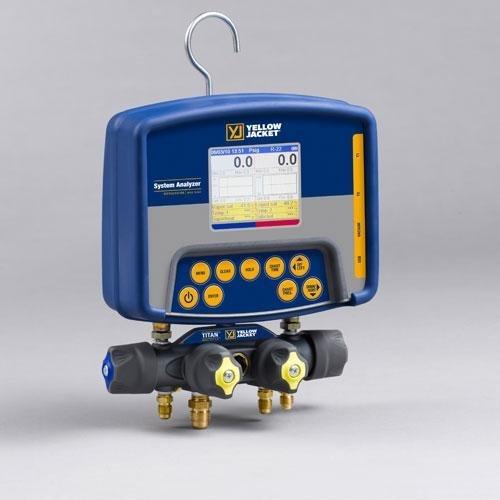 Yellow Jacket 40813 Refrigeration System Analyzer with Ti...