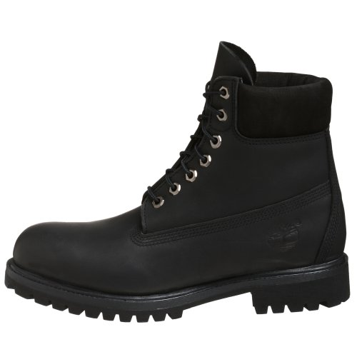 Boots Boot Homme Timberland Smooth 6in Leather Black Premium w1FPO