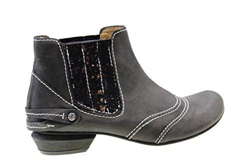 Tiggers Petra 17 Damenschuhe Stiefeletten Leder schwarz tco38