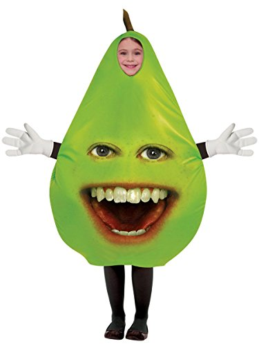 Unisex Child's Annoying Orange - Pear Costume ()