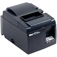 Star TSP143IIIW (TSP100III WLAN) Receipt Printer - Thermal, Auto-cutter, WLAN (Wi-Fi), WPS easy connection, Internal Power Supply. Color: Black.
