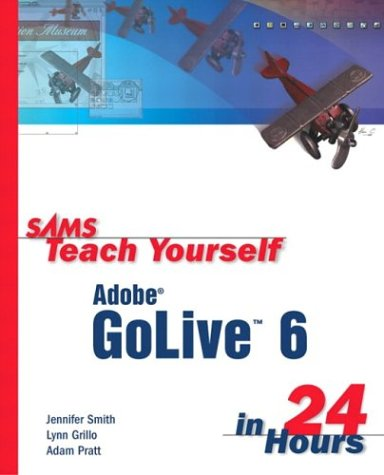 Sams Teach Yourself Adobe GoLive 6 in 24 Hours-cover