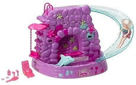 B000B6MKKG Polly Pocket Fountain Falls Playset 41ZY2DZNT5L.