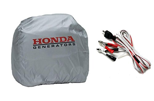 EU2000i DC Charge Cord (32660-894-BCX12H) AND Silver Cover (08P57-Z07-00S) by Honda