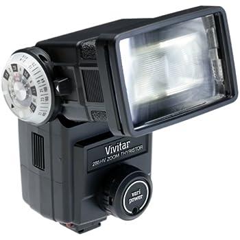 Vivitar 285HV Flash for SLR Cameras (Black)