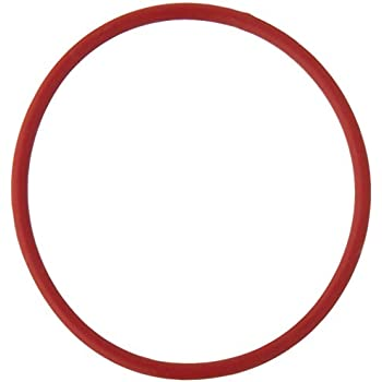 Uxcell 50mm Outside Dia 2mm Thickness Rubber Oil Filter Seal Gasket O Rings Red 10 Piece