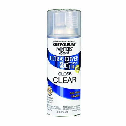 Rust Oleum  Painter S Touch Multi Purpose Spray Paint  Ounce Clear